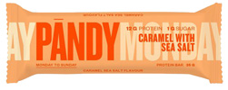 Pandy Low Sugar Protein Bar - Caramel with Sea Salt