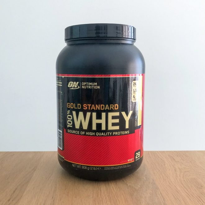 Optimum Nutrition - Gold standard whey 100%