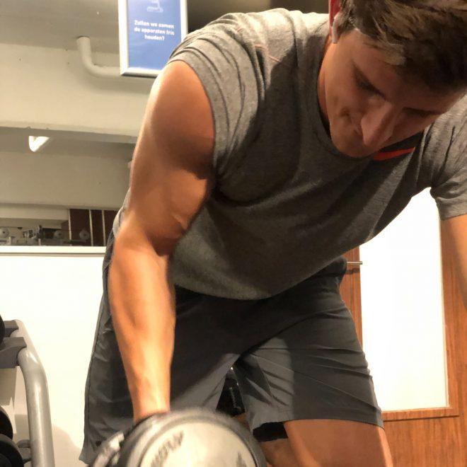 Eerste pre-workout training