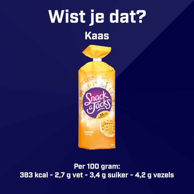 Snack a Jacks - Kaas