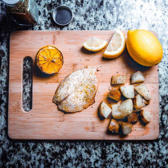Eet gezonde lekkere vis